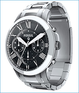 Fossil Group | Q Wearables | Q Grant Stainless Steel Bracelet
