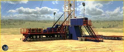 King Consolidated | Permian Basin | Animation Frames