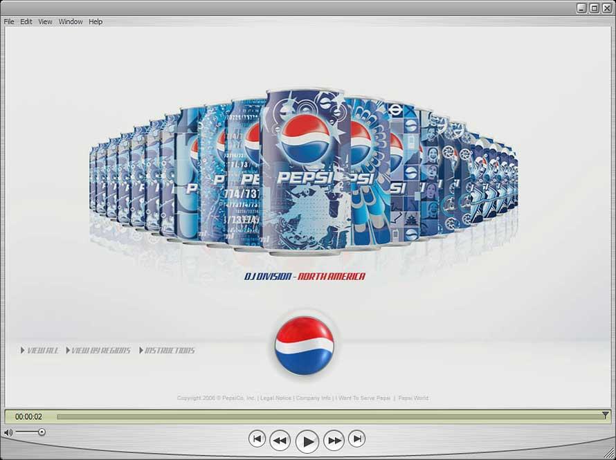 Tribal DDB | Pepsico | Trackball Animation