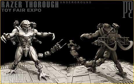 Cinsay | Underground | Razer Action Figure