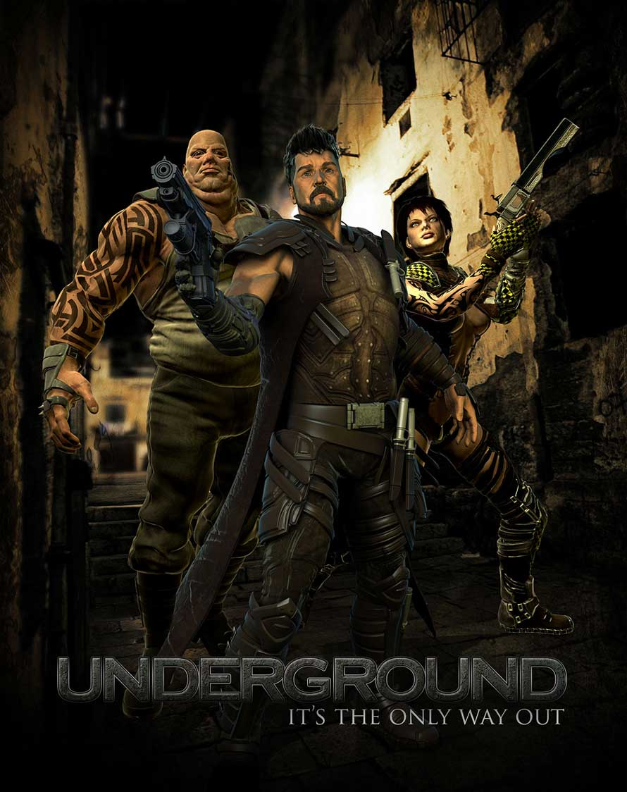 Cinsay | Underground | Promotional Poster